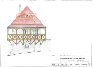 Torwächterhaus Schloss Gersdorf - so könnte es ausgesehen haben